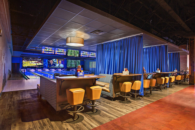 Stars and Strikes features upscale bowling, virtual reality, arcade, laser tag and bumper cars.