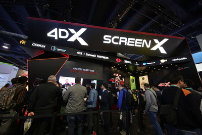 CJ 4DPLEX Successfully Launches the Future of Cinema at CES 2020