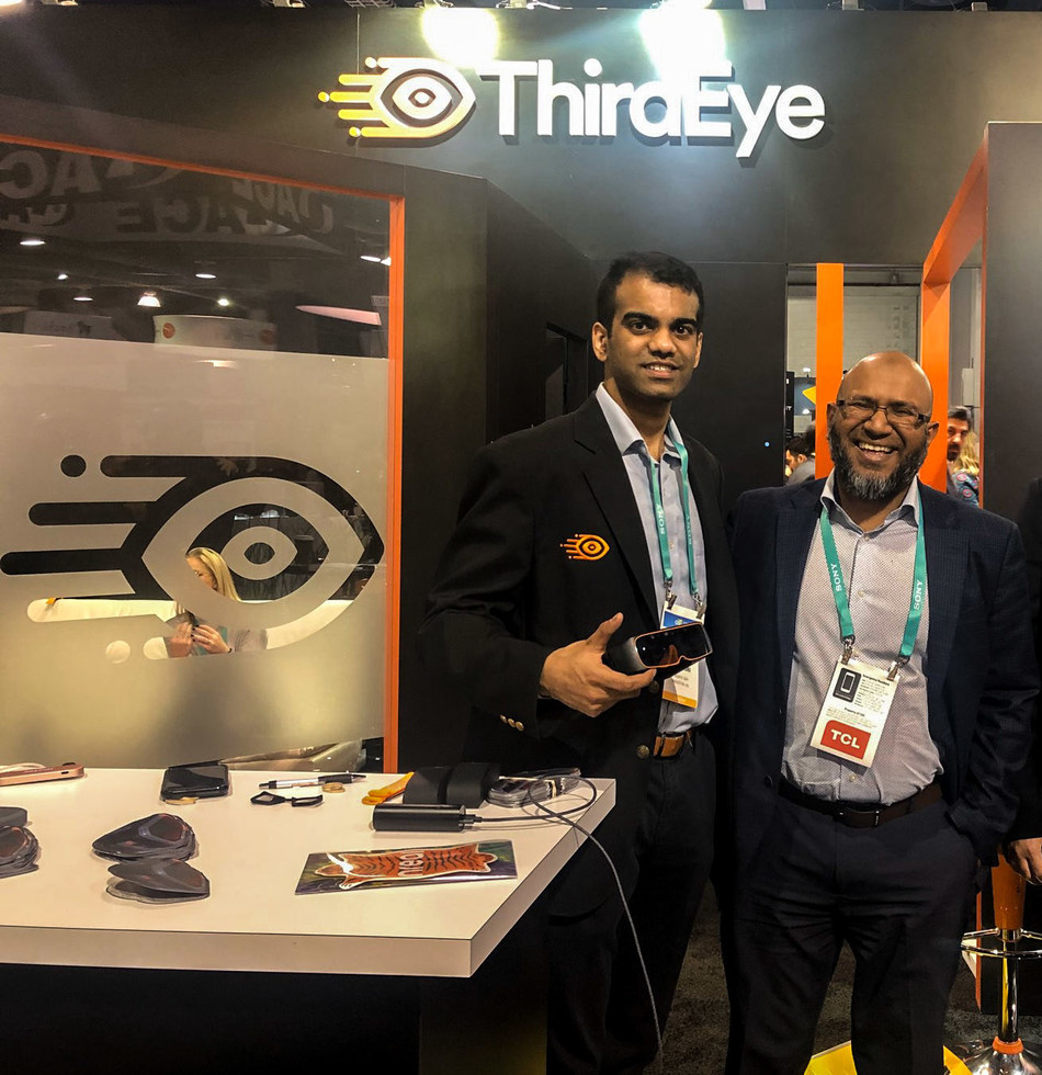 ThirdEye Founder, Nick Cherukuri, and IO Intelligence President and Founder, Tanvir Rahman