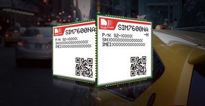 SIMCom LTE Cat 1 module SIM7600NA and LTE Cat 4 module SIM7600NA-H