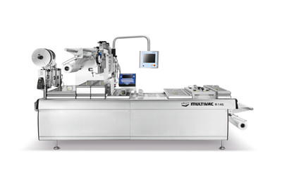 Multivac's best-selling compact thermoforming packaging machine will be showcased at FHA-Food & Beverage (Photo credit: Multivac)