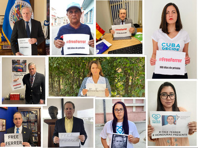 Secretary General of the OAS, Luis Almagro; MEPs Hermann Tertsch and Leopoldo López Gil, the United States Congressman, Mario Diaz-Balart; the former congressman, Lincoln Diaz-Balart, the Colombian Senator, Paola Holguín; the activist, Rosa María Payá and several young activists and religious leaders of the Island and Latin America are among the 100 faces of the campaign.