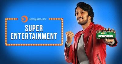 RummyCircle.com onboards Kannada superstar Kichcha Sudeep as Brand Ambassador