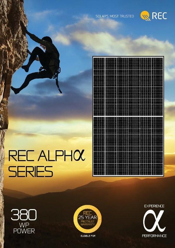 REC Alpha Series Solar Panel