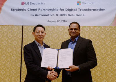LG Powers Automotive Infotainment and Building Management Systems with Microsoft Azure Cloud and AI Technologies
