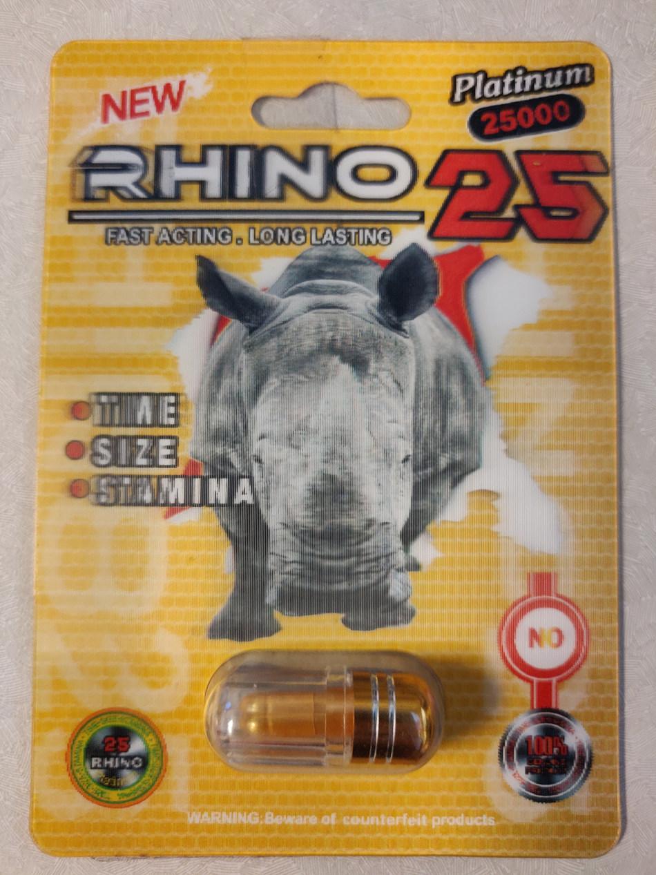 Rhino 25 Platinum 25000 (CNW Group/Health Canada)