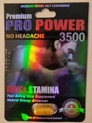 Premium Pro Power 3500 (CNW Group/Health Canada)