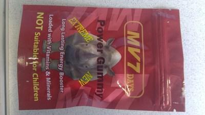 MV7 Days Power Gummy (CNW Group/Health Canada)