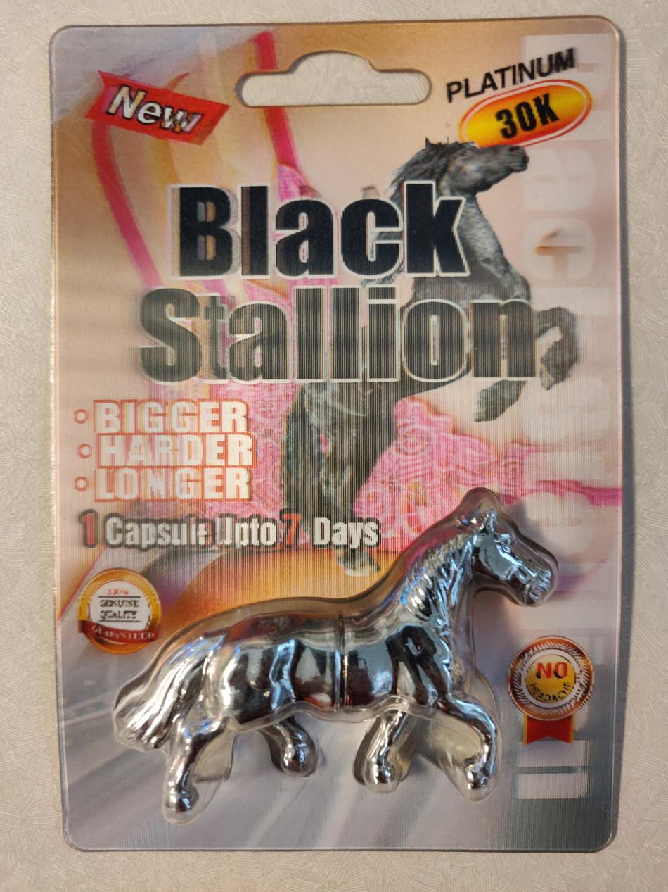 Black Stallion Platinum 30k (CNW Group/Health Canada)