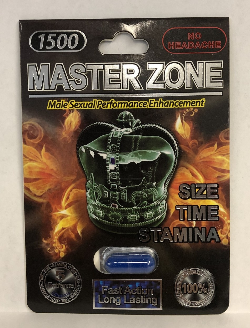 Master Zone 1500 (blue capsule) (CNW Group/Health Canada)