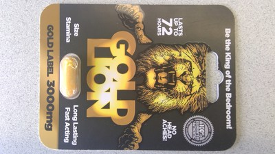 Gold Lion Gold Label 3000mg (CNW Group/Health Canada)