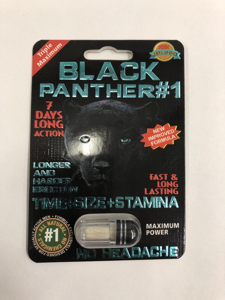 Black Panther #1 (CNW Group/Health Canada)