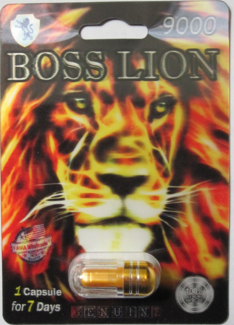 Boss Lion 9000 (CNW Group/Health Canada)