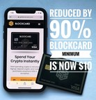 Ternio Cuts Minimum Balance Requirements on BlockCard by 90%