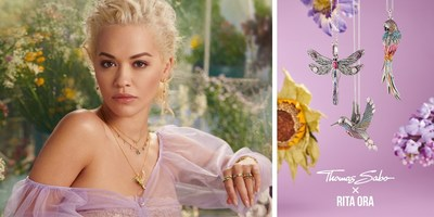 "THOMAS SABO and Rita Ora continue their two-year collaboration with the theme - ""The Magic of Jewellery"" - with the Spring/Summer 2020 campaign and enhancing the THOMAS SABO world with impressions of a magic garden."