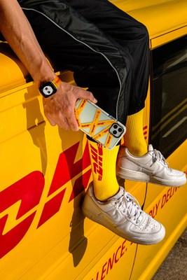 La nueva colección de DHL x CASETiFY inspirada en los próximos 50 años de DHL