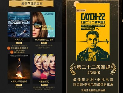 iQIYI Partners with 77th Golden Globe Awards