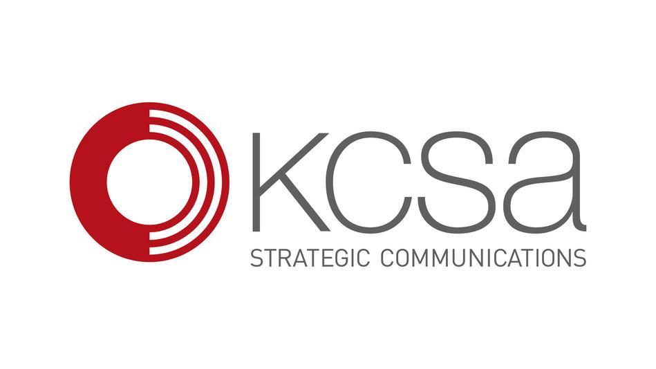 (PRNewsfoto/KCSA Strategic Communications)