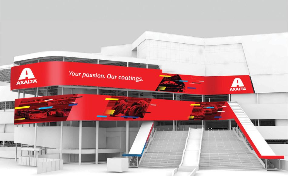 Axalta Introduces its Imron industrial coatings at Daytona International Speedway