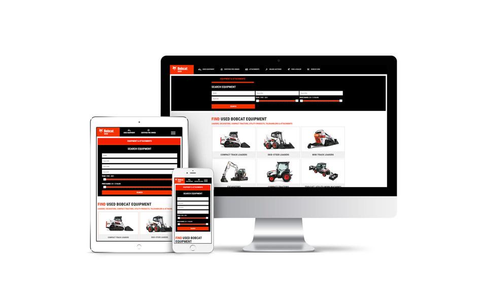 Bobcat & Sandhills Global Launch BobcatUsed.com, Announce Sandhills' Inclusion in Preferred Dealer Website Program