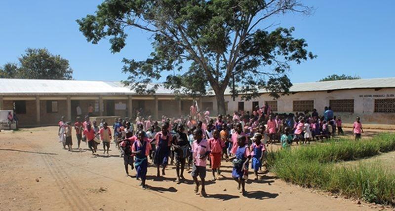 Chakaka Primary School in Malawi, Winner of One Million Liters
