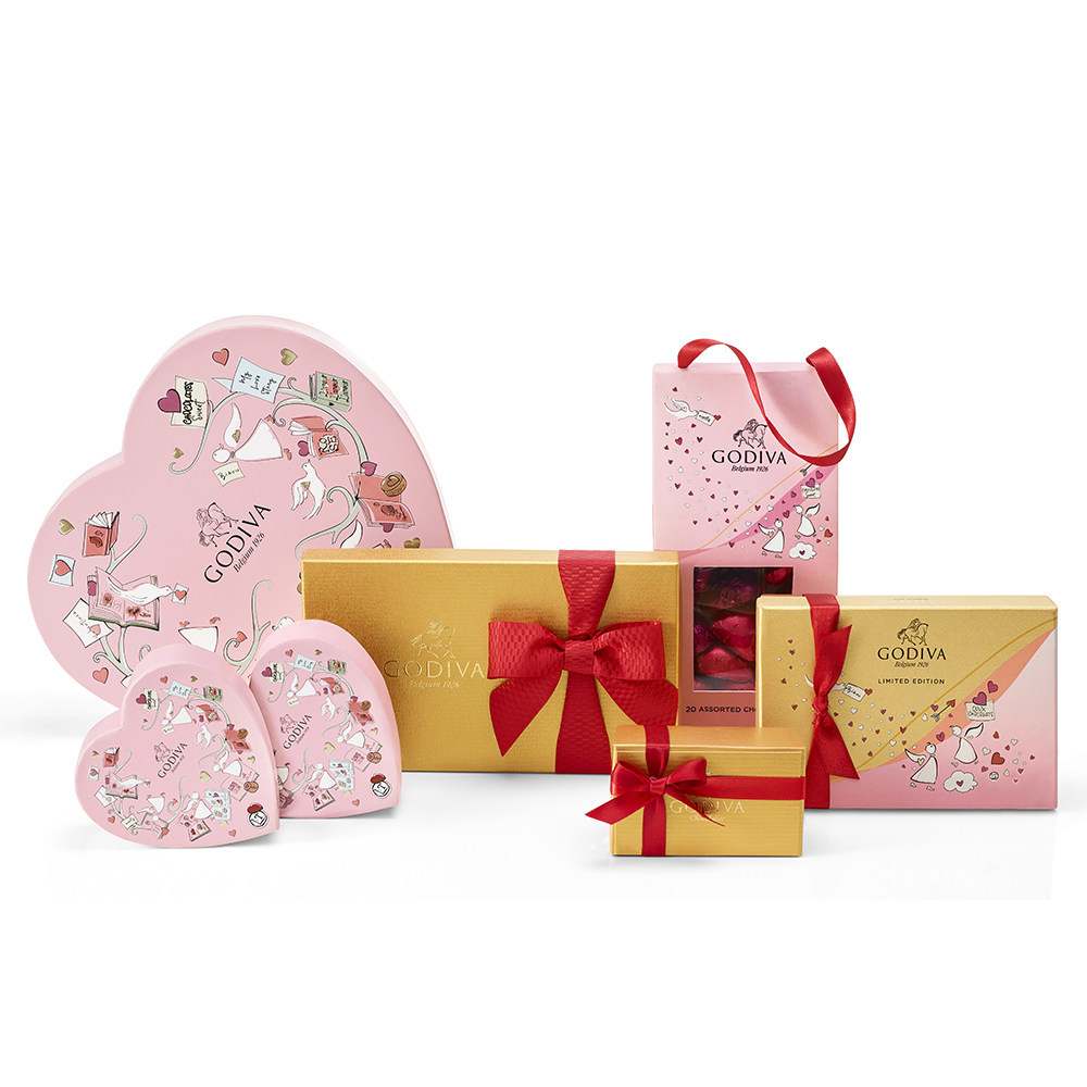 Fall In Love With Godiva S 2020 Valentine S Day Collection