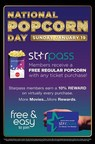 Showcase Cinemas Gives Away Free Popcorn This Sunday To Celebrate National Popcorn Day