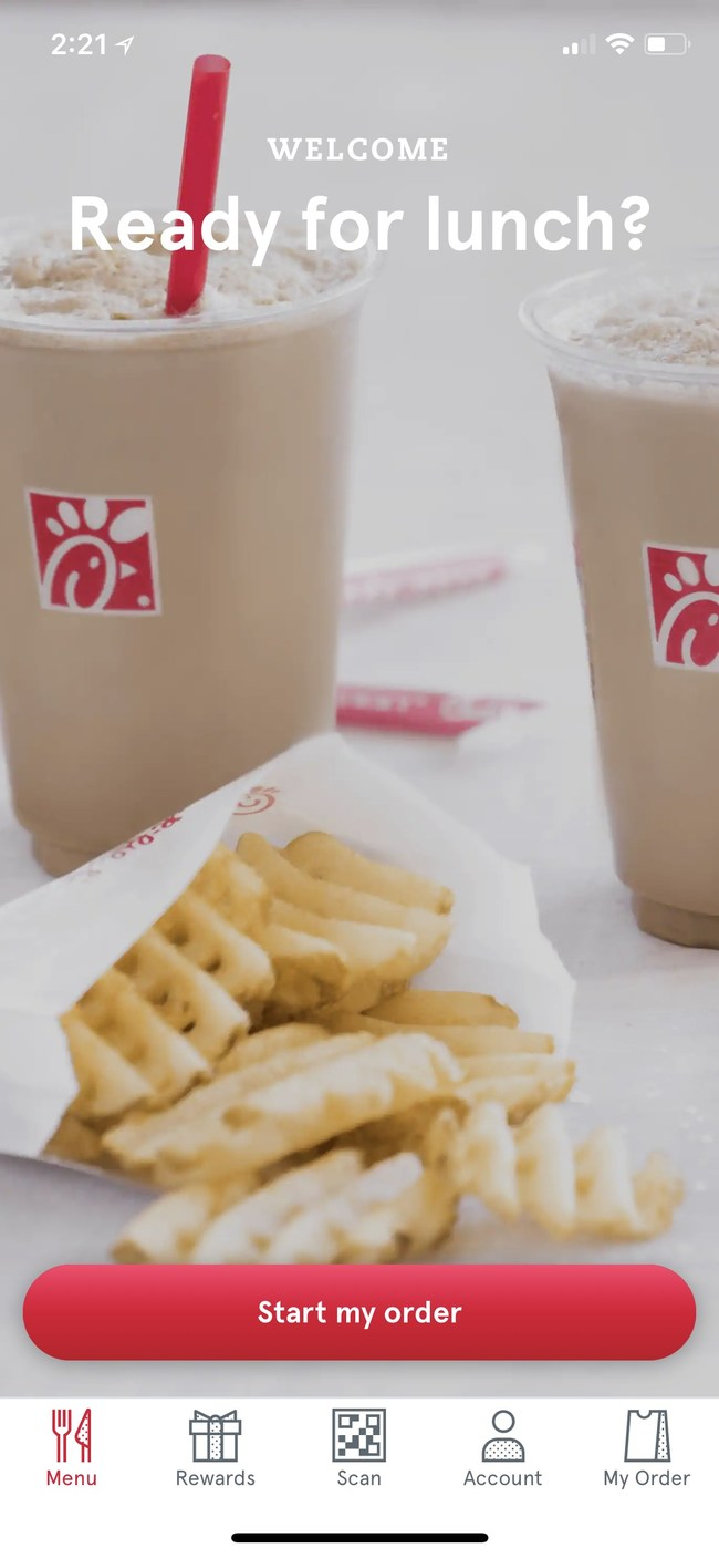 Chick-fil-A offers a free eight-count order of Nuggets via the Chick-fil-A Mobile App through the end of January.