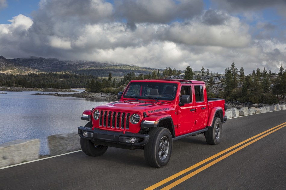 2020 Jeep® Gladiator wins North American Truck of the Year award
