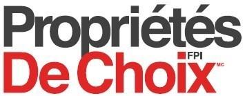 Choice French logo (Groupe CNW/Fiducie de placement immobilier Propriétés de Choix)