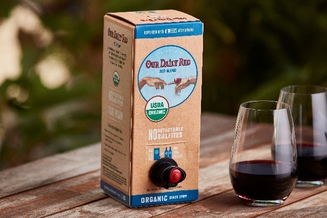 #1 USDA Organic Our Daily Wines Launches 1.5-Liter Box