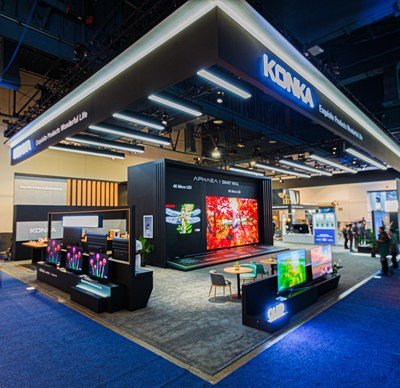 KONKA's CES booth