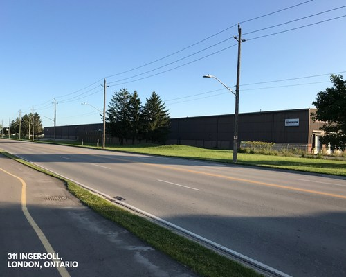 BTB's property located at 311 Ingersoll in London, Ontario. (CNW Group/BTB Real Estate Investment Trust)