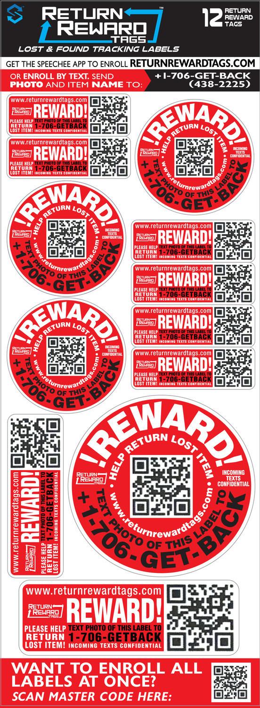 Return Reward Tags