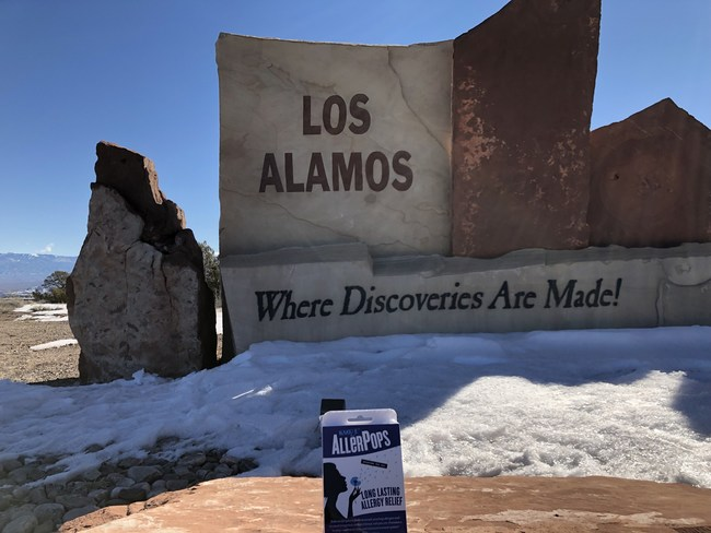 AllerPop is developed in Los Alamos, NM, where discoveries are made.