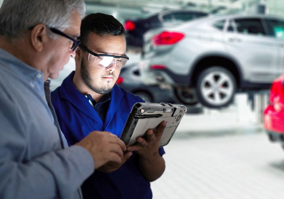 Getac has been selected by BMW Group to supply rugged devices and solutions across its global network for R&D, production, logistics and diagnostics (source: Getac) (PRNewsfoto/Getac)
