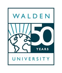 Walden University 50th Anniversary Logo (PRNewsfoto/Walden University)