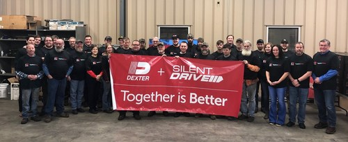 Dexter Axle Company, A Subsidiary of DexKo Global Inc., Acquires Silent Drive - welcoming Silent Drive to the Dexter family