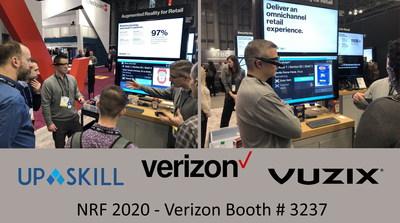 Vuzix M400 Smart Glasses Hands-Free AR Retail Solution Showcased by Verizon at NRF 2020