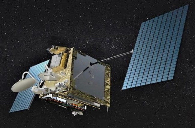 A OneWeb Low Earth Orbiting Satellite