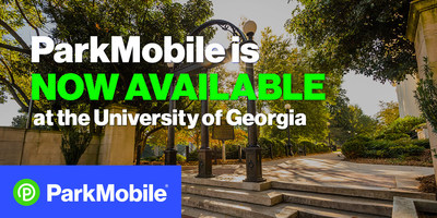 Students and visitors will be able to use the ParkMobile app to easily pay for parking at 2,400 spaces across campus in both lots and decks. The launch of ParkMobile service at the University of Georgia expands the company's footprint across the state.