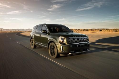 El Kia Telluride gana el premio al Vehículo Utilitario del Año de Norteamérica para 2020 (PRNewsfoto/Kia Motors America)