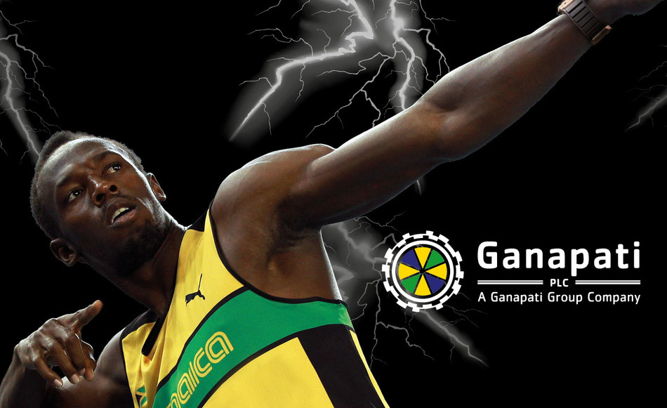 Usain Bolt X Ganapati