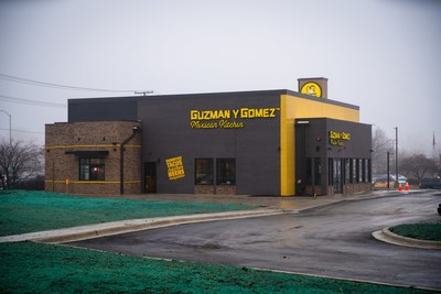 Guzman y Gomez, the Australian-based fast casual Mexican concept, makes its U.S. debut with the opening of its first drive thru restaurant in Naperville, Ill., on Thursday, Jan. 16.