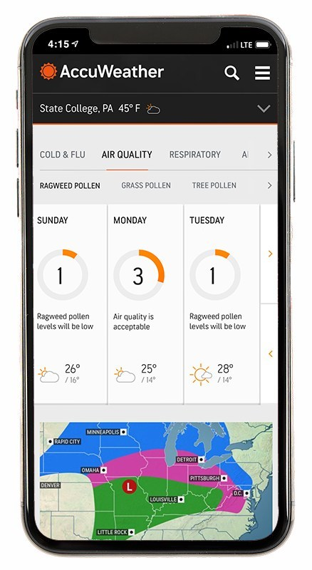 AccuWeather Partners with Plume Labs