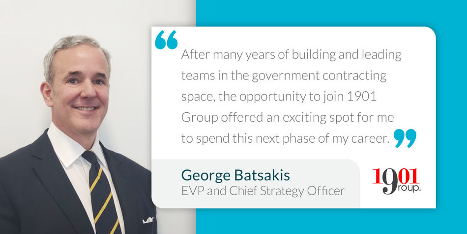 George Batsakis, EVP and Chief Strategy Officer of 1901 Group