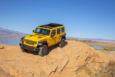 """The 2020 Jeep® Wrangler Rubicon EcoDiesel has been named FOUR WHEELER """"2020 SUV of the Year"""