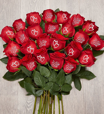 1-800-Flowers.com Conversation Roses™ I Love You