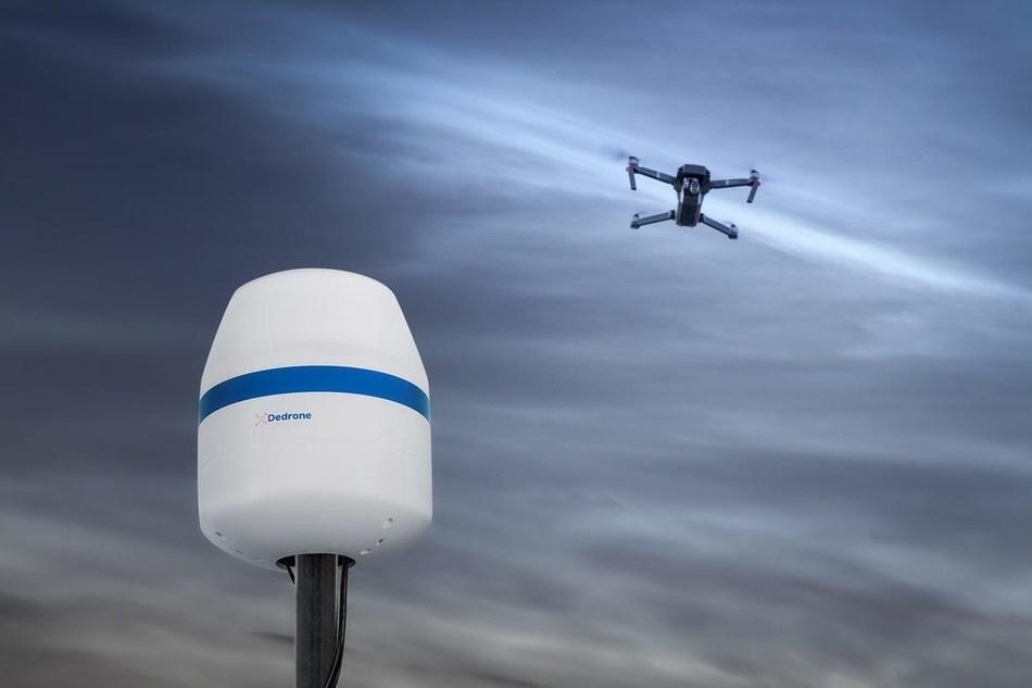 Dedrone Releases RF-160 Sensor for sUAS Detection