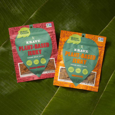 KRAVE introduces new Plant-Based Jerky in Smoked Chipotle and Korean BBQ